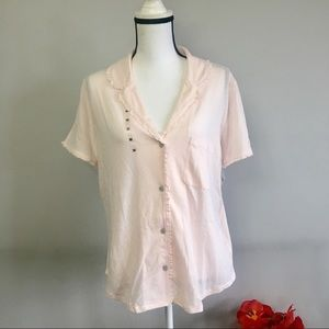 Victoria's Secret button down pj top